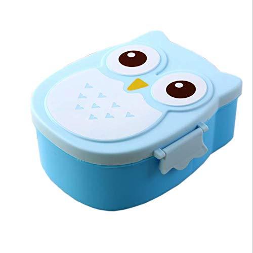 HomeFun-Brotdose im Eule-Form Vesperdose mit Trennwand Lunchbox Mittagessen für Kinder M?dchen Junge