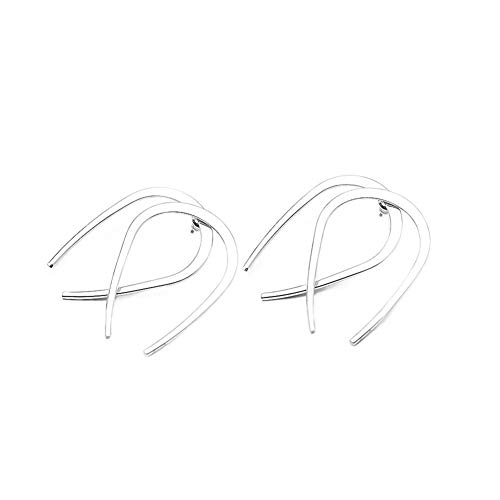 Qinlee Ohrringe für Damen Ohrhänger Ohrstecker in Gold Silber Ohrschmuck Ohrstecker Geometrie Design Titan Minimalist Modeschmuck nickelfrei Schmuck Anhänger Dekoration für Frau