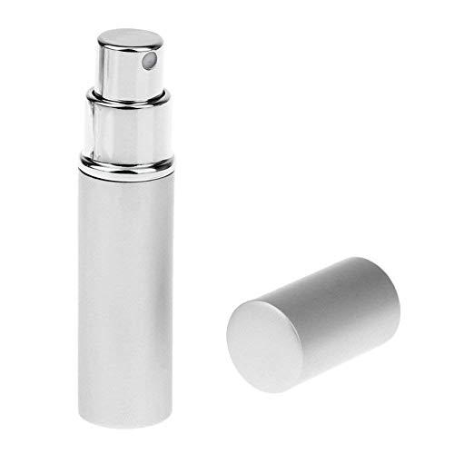 Mini atomiseur de parfum portable rechargeable 6 ml - Argenté