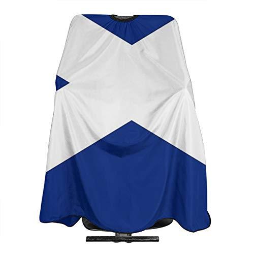 Schottische Flagge Kleid Rock Friseur Cape Tuch Schürze Friseur Cape Friseur Cape Friseur Cape Friseur Umhang Friseur Umhang Friseur Umhang Friseur