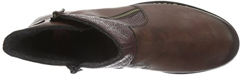 Rieker Damen Z6870 Kurzschaft Stiefel Rot (vinaccia/bordeaux / 35)