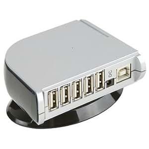 Ex-Pro 7 Port Powered Mini USB 2.0 / 1.1 HUB, Turn 1 port into 7 Ports. High Speed USB with UK Power.