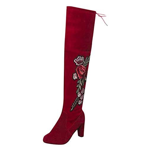Confortable Talon Compensee Mocassins Femme - LuckyGirls Mode Platform Cuir Chaussures des Chaussures de Fourrure, Convient Toutes Les Saisons