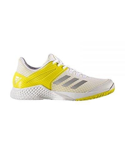 adidas Adizero Club W, Zapatillas de Tenis para Mujer, (Ftwbla/Plamet/Amabri), 36 2/3 EU