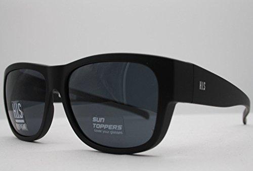 HIS HP 79100-1 Sonnenbrille Überziehbrillen mit Polaroidgläser