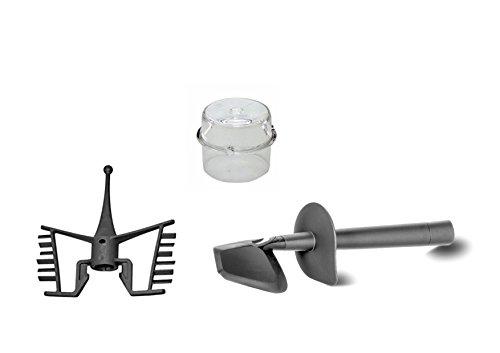 Thermomix TM31rodillos ajustables Espátula + Mariposa + tappo-misurino