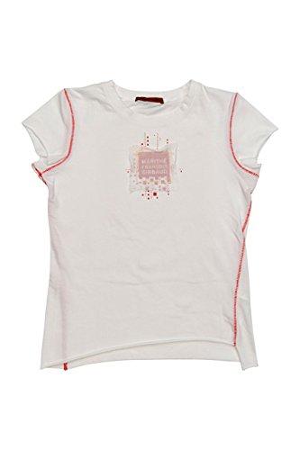 Le Jean de Marithé & Francois Girbaud T-Shirt ANDR, bambina, Colore: Bianco, : 164