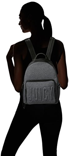 Juicy by Juicy Couture - Arlington, Borse a mano Donna Nero (Black Juicy Print)