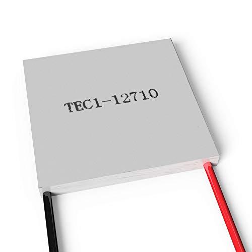 Peltierelement Peltier Thermoelectric Module 12V 100W TEC TEC1-12710 | Thermoelektrische Kuehlung Element Chiller Heatsink Kuehlkoerper Kuehlbox Generator
