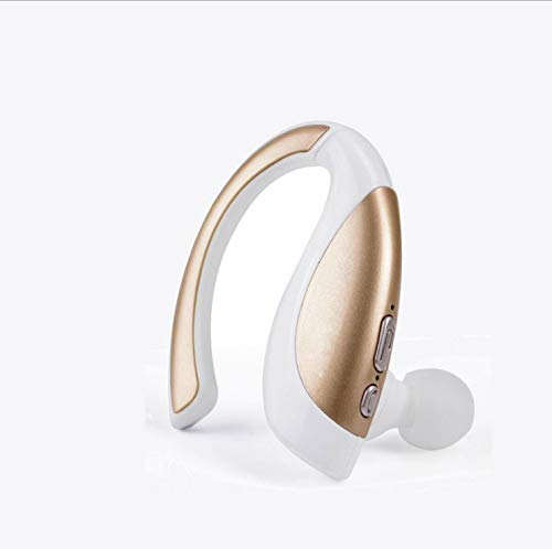 Iphone Hands Free-headset (Bluetooth Headset ,Handy Bloothooth Kopfhörer In-Ear Ohrhörer Funk ,mit Mikrofon Rauschunterdrückung Funk Bluetooth Kopfhörer Headsets ,für iPhone Telefon Drahtlose Hands-Free Headset,White)