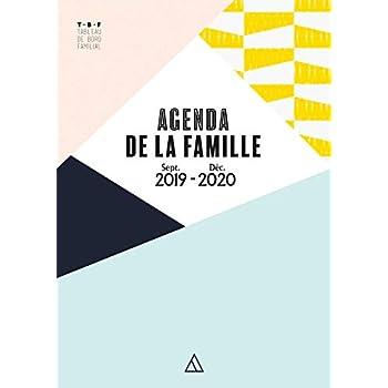TBF - Agenda de la famille - Sept. 2019 / Déc. 2020