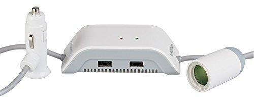 Grundig-Automotive-871125246958-Alimentatore-Presa-con-Doppio-USB-e-Protezione-Batteria