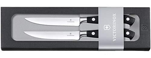 Victorinox Couteau de Cuisine avec Lame dentelée Grand maître steakmesserset 7.7242.2W