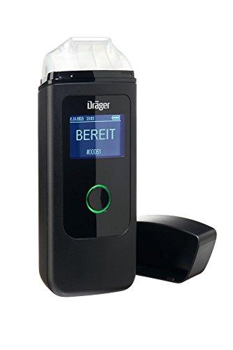 Dräger Alcotest® 3820–Elektrochemischer Atemalkoholteste, schwarz (Version für Österreich), präzises Messgerät wie Alkomat der Polizei