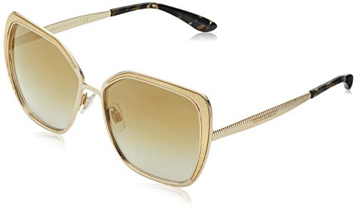 Dolce & Gabbana Damen Sonnenbrille 0DG2197, Gold (Gold), 56