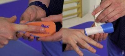 3er Pack Fingerschiene - flexible - (Splint Sam Finger)