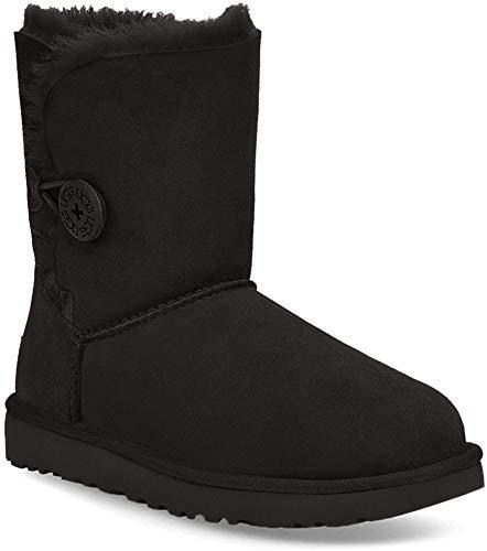 UGG Bailey Button II 1016226-blk, Botas de Nieve para Mujer, Negro Black 1016226/Black, 40 EU