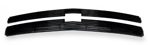 2007-2013 Chevy Silverado 1500 Black Billet Grille Grill Insert # C65766H by APS - 2008 Billet
