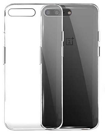CEDO Flexible Ultra Slim Premium Silicone TPU Transparent Soft Back Cover Case for OnePlus 5 / One Plus 5