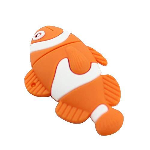 HUALQ USB-Flash-Laufwerke USB-Stick Clownfish USB-Stick Cartoon USB-Stick Geschenk USB-Stick USB 2.0