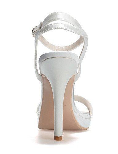 ShangYi Schuh Damen - Hochzeitsschuhe - Vorne offener Schuh - Sandalen - Hochzeit / Party & Festivität -Schwarz / Blau / Rosa / Lila / Rot / Elfenbein Ivory