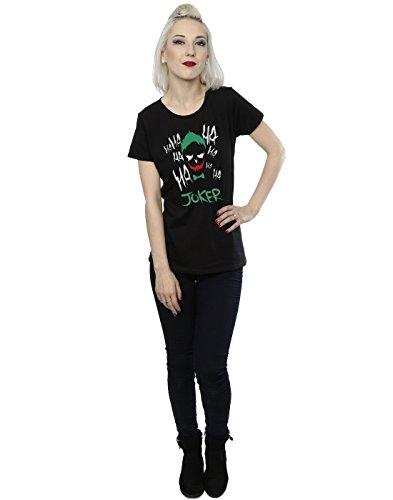 Suicide Squad Femme Joker Icon T-Shirt Noir