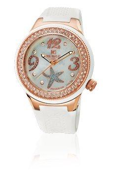 Waooh - Reloj Kienzle 720 3061 para mujer - pulsera de silicón Blanco