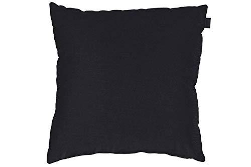 Hartman Samson Zierkissen in schwarz, Sofakissen Sunbrella-Textil, Deko-Kissen 45x45cm, Outdoor Polster für Gartenmöbel