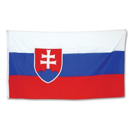 Slowakei Flagge T-shirt (Promex Slowakei Flagge 90x150cm)