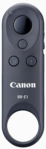 Canon BR-E1 Fernbedienung (NFC, WLAN, Bluetooth, 5 m, geeignet für Power Zoom Adapter PZ-E1) grau (Canon Kamera-auslöser Fernbedienung)