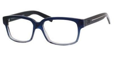 Preisvergleich Produktbild DIOR HOMME BLACKTIE 150 Brille 0M5S 54-14-140 Schwarz, Blau, Grau