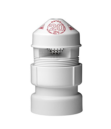 Oatey 39017sure-vent Air Aufnahme Ventil mit 1-1/2von 2PVC Adapter Bulk Pack, 2Zoll -