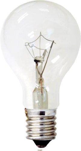GE LIGHTING 7403740Watt 320-lumen Dekorative A15Licht, Crystal Clear, 2er Pack (Glühbirne, Fluoreszierend Ge)