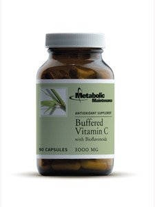 Buffered Vitamin C mit Bioflavonoide, 1000 mg - Metabolic Wartung