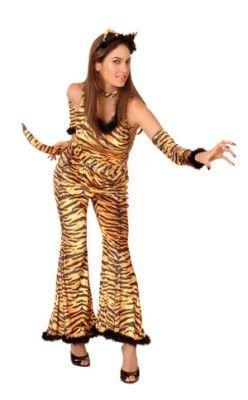 Kostüm superluxe Wild Tiger Leo Girl (M) (Tiger Girl Kostüm)