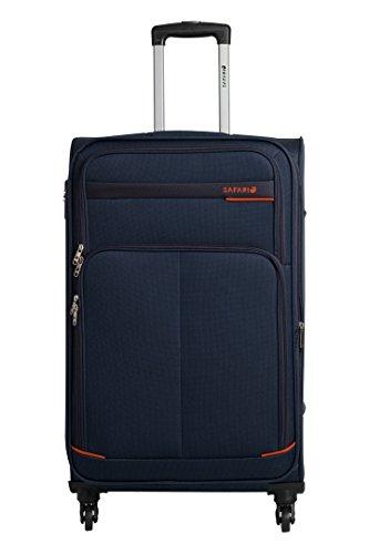 Safari Maasaimara Fabric 75 cms Navy Blue Softsided Carry-On (MAASAIMARA 4 WHEEL 75)