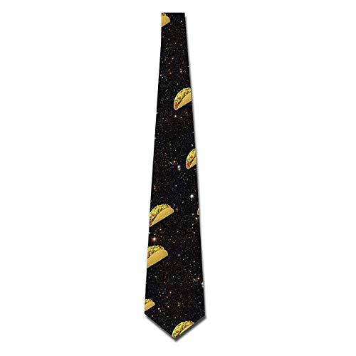 uykjuykj Nice Taco Tie Fashion s Neckwear Neckcloth Choker Neck Elegant Necktie Formal Party Suit Necktie For Men