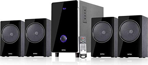 Intex 4.1 XM 2720 FMUB 65 W Bluetooth Home Theatre (Black, 4.1 Channel)