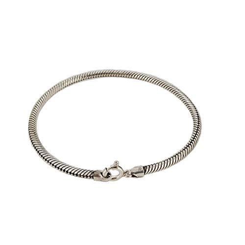 TreasureBay - 925 Sterlingsilber Sterling-Silber 925 (Herren-armband Bali)