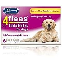 Johnsons 4Fleas Pantalla Spot de Perro Cachorro 3Mes protección de pulgas
