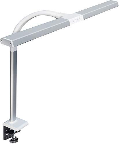LED Schreibtisch-Lampe 80 cm 1200 Lm dimmbar Klemmfuß - Bar Schreibtisch Höhe