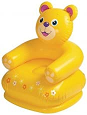 Inflatable PVC Animal Chair (Color May Vary)