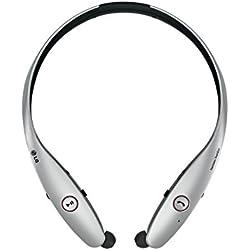 LG Tone Infinim - Auriculares in-ear, plata