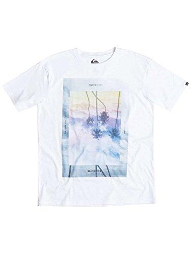 Quiksilver Herren Printshirt White