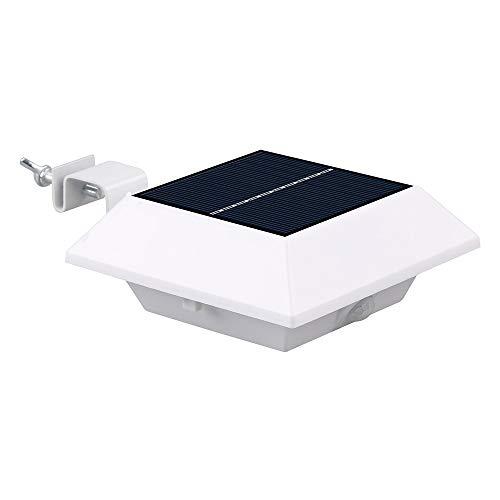 LED-Solarlicht-menschlicher Körper-Sensor-Quadrat-Wannen-Wandleuchte im Freien