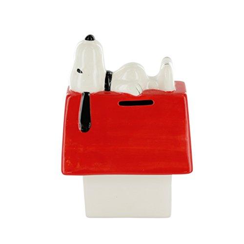 Snoopy tisn3551Hucha nicho cerámica Blanco