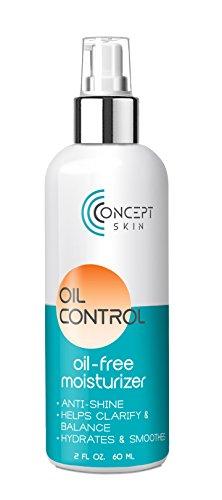 Öl Frei Gesichtscreme - Mattierend, für Ölige, Fettige und Unreine Haut- Naturkosmetik mit...