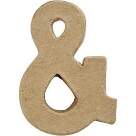 Zeichen, klein, H 10 cm, Stärke: 1,7 cm, 1Stck, B 7,5 cm [HOB-26666]