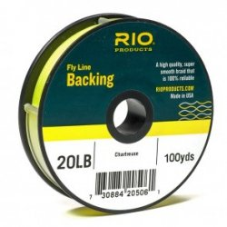 Backing RIO , Backing : 100 yds 30 lb, Couleur : Chartreuse