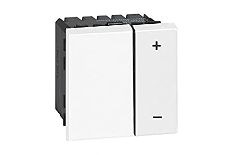 Legrand - LEG78407 - Mosaic Ecovariateur Universel pour Lampes Eco 2 fils - Blanc